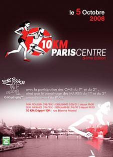 Résultats des 10km de Paris-Centre
