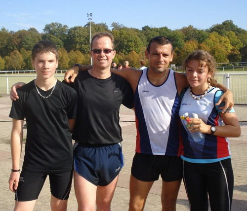 Thibaut, David, Sébastien, Sandrine.