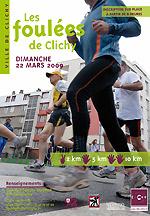 LES RESULTATS DES FOULEES DE CLICHY 2009