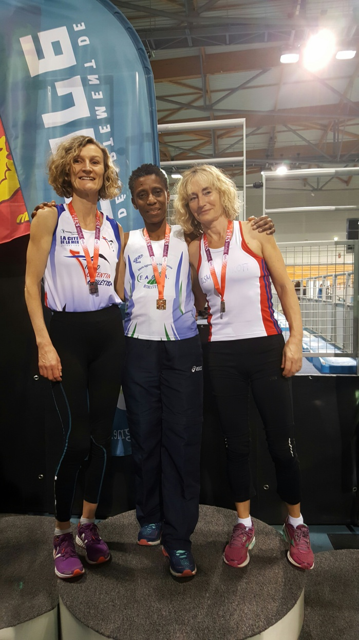 Championnats masters indoor 2017