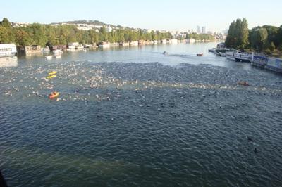 Départ dans la Seine!