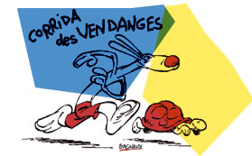 FOULEES DES VENDANGES DE BAGNEUX 2009