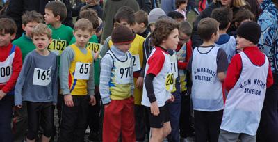 Championnats départementaux de cross - résultats