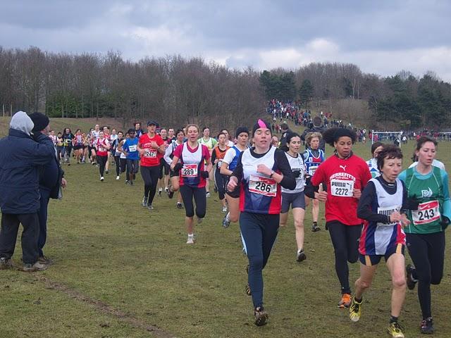 Carine, Louise et Annie en course!