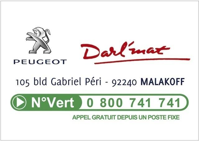 Peugeot Darl'mat partenaire des Foulées de Malakoff