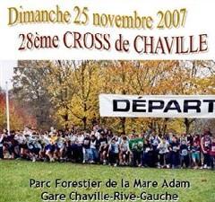 CROSS DE CHAVILLE  DU 25 NOVEMBRE