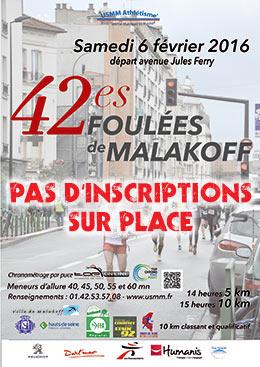 42es Foulées de Malakoff