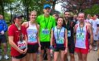 Marathon Hambourg et 10km du bois de Boulogne