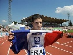 Mahiedine Mekhissi-Benabbad, vice-champion olympique 2008