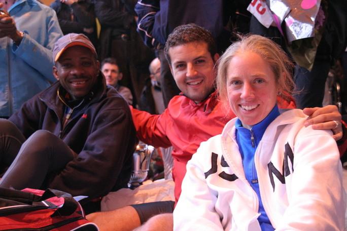 Serge, Samir et Heidi : esprit club...