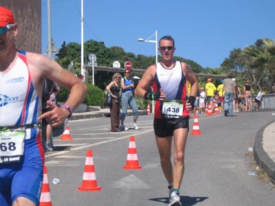 Un triathlète de l'USMM à Toulon