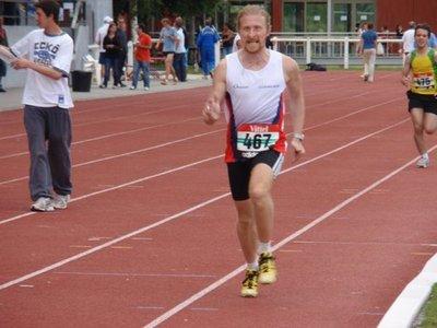 Frédéric KERN sur 1500m en 5'10