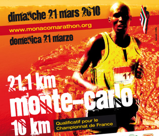 Résultats du semi-marathon de Monaco