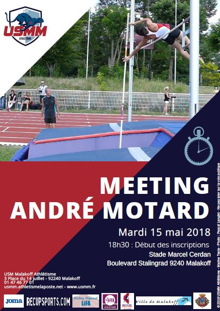 Meeting André Motard 2018