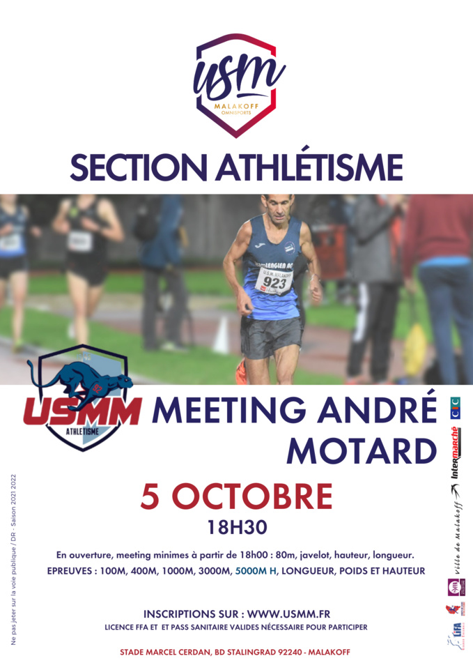 Meeting André MOTARD 2021