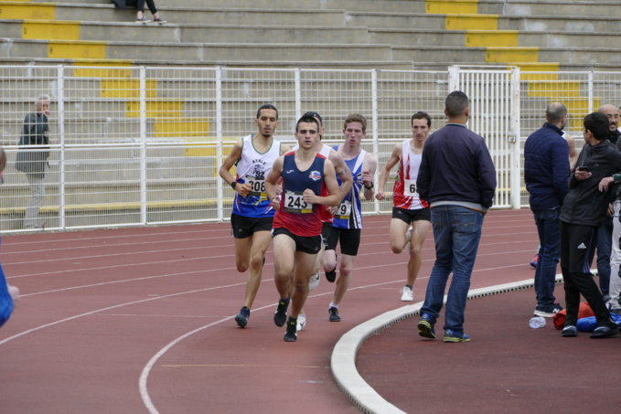 Florian Agraz mène la course