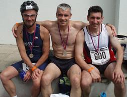 Pendant ce temps là... se déroulait le Triathlon de Paris