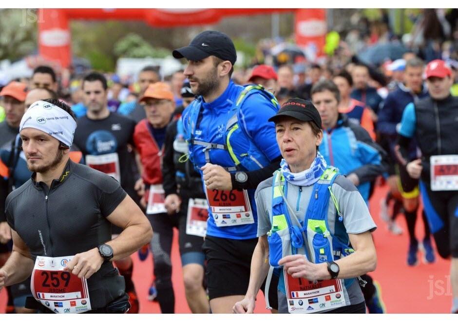 1er marathon des vins des côtes chalonnaises, 1er avril 2017 : 1ère dans ma catégorie !