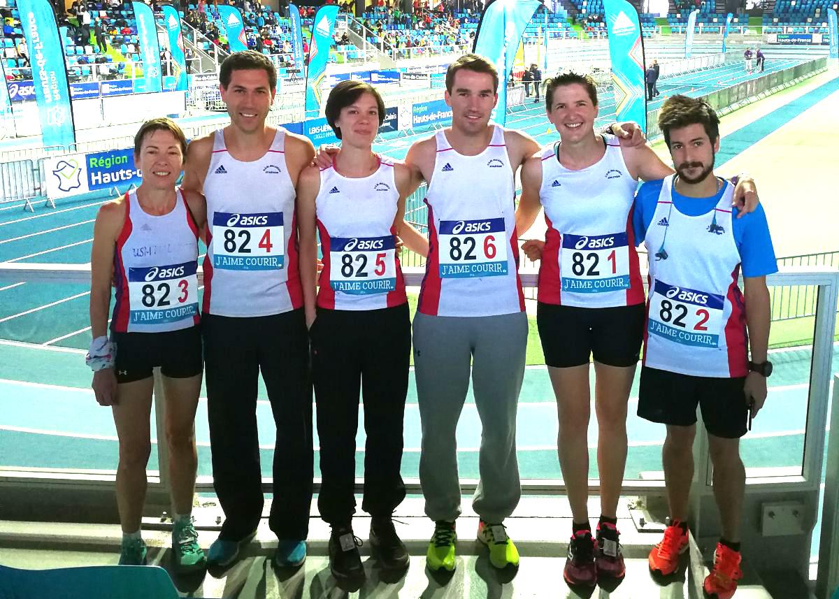 Championnats de France d'Ekiden à Liévin