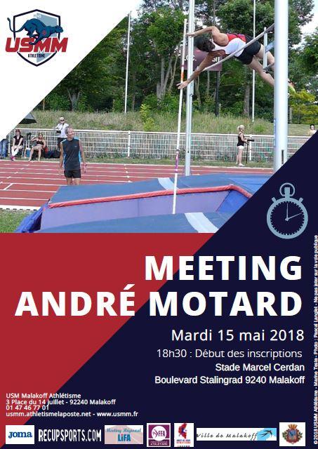 Meeting André Motard 2018