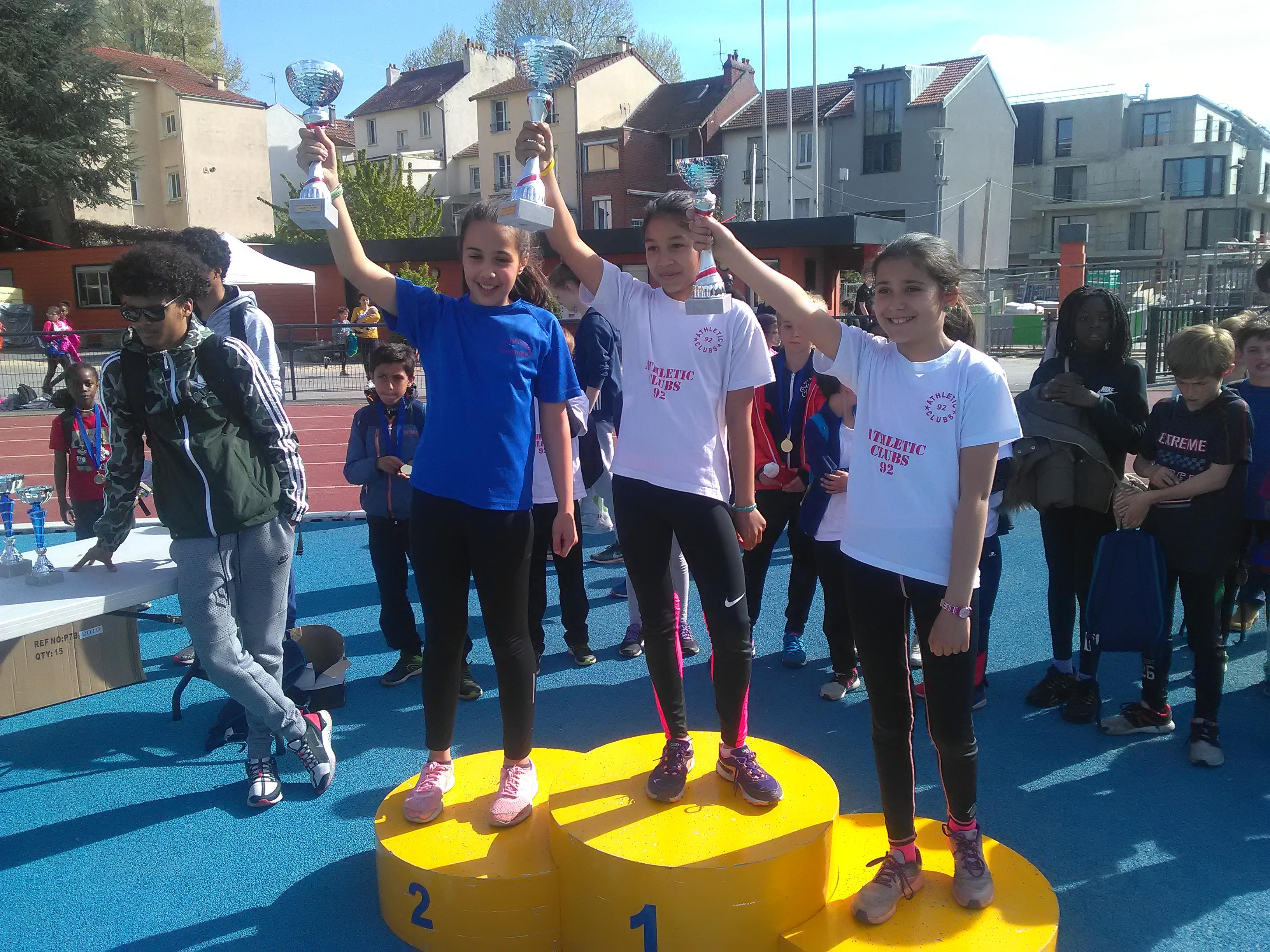 2e place pour Angèle Moutout